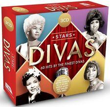 STARS-DIVAS (ARETHA FRANKLIN, NINA SIMONE, BILLIE HOLLIDAY, ...) 3 CD NEU