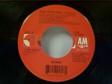 """STING """"SHAPE OF MY HEART / IF I EVER LOSE MY FAITH IN YOU"""" 45"""