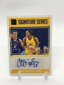 KP) 2019 Panini Donruss WNBA Chiney Ogwukmike Auto 42/99 Los Angeles Sparks
