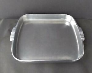 Vintage Wagner Ware Magnalite Aluminum 4007P Roast And Bake Pan