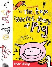 The Unbelievable Top Secret Diary of Pig-ExLibrary