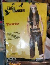 SPIRIT The Lone Ranger TONTO boys Costume size large 12-14 NWT