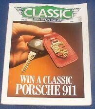 CLASSIC AND SPORTSCAR APRIL 1988 - WIN A CLASSIC PORSCHE 911
