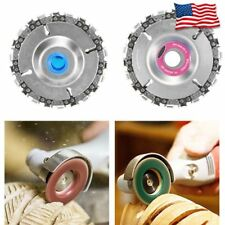 Grinder Disc Tooth Fine Chain Saw 4 Inch Angle Carving Culpting Wood Plastics