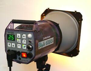 Flash studio professionnels compacts elinchrom style rx 600 Joules + Bol