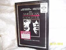 AMERICAN GANGSTER 2 DISC UNRATED EXTENDED EDITION  EXCELLENT MUST SEE