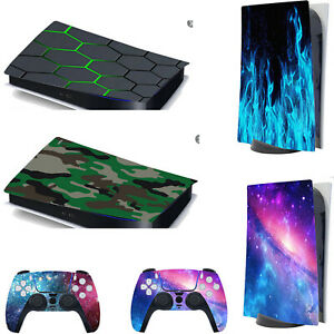 PVC Decal Protective Film for Sony PlayStation 5 PS5 Console Controller Stickers