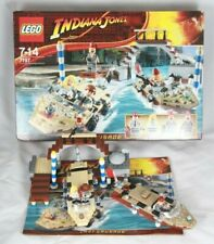 LEGO INDIANA JONES 7197 Venice Canal Chase COMPLETE with box and instructions