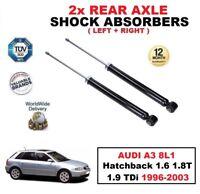 2 X Amortisseurs Arrières pour Audi A3 8L1 Hayon 1.6 1.8 T 1.9 Tdi 1996-2003