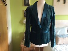 Together :green fitted blazer jacket size 12