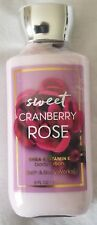 Bath and Body Works Body Lotion, Sweet Cranberry Rose