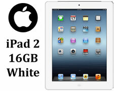 Nice Apple iPad 2 16GB WiFi White Silver 2nd Generation Tested Working A1395