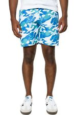 "WARHOL x WeSC 'Camouflage' Men's Swim / Bathing Trunks Board Shorts 32"" Camo NWT"