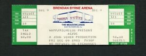 1983 AC/DC Unused Full concert ticket Meadowlands, NJ  For Those About To Rock
