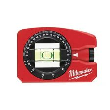 Milwaukee Mini Level Pocket Size 8cm with Spirit Revolving 360° Magnetic
