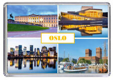 Oslo Norway Fridge Magnet 02