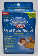 HYLAND'S 4 Kids ORAL PAIN RELIEF Ages 2-12 Homeopathic 125 Quick Dissolve Tabs N
