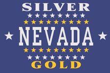 Fahne Flagge Nevada 1905 120 x 180 cm Bootsflagge Premiumqualität