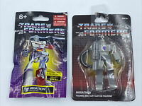 MEGATRON Lot of 2 Transformers Mini Figure and Clip Limited Edition Decepticons