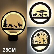 Acrylic Led Wall Light Sconce Lamp Modern Living Bedroom Deer Animals Decor