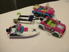 LEGO FRIENDS CARS AND BOAT as seen