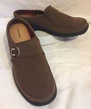 COMFORTVIEW Women's Brown Joy Mule Size 10 1/2 M Comfort Shoes