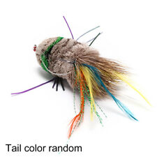 Salamander Fly Fish Flies Trout Bass Lure Bait Float Weedless Fishing Tackle FG