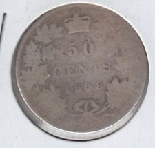 1898 Canada 50 Cents