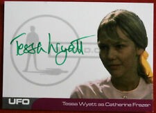 UFO - SERIES #2 - TESSA WYATT - VERY LIMITED Autograph Card TW3 - Green Ink