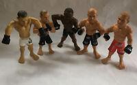 UFC Action Fighting Figures Lot of 5 Matt Serra Rashad Evans Mauricio Shogun