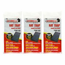 Rat Glue Trap ( 6 Traps  ) Rat Mouse Lizard Snake Glue Traps Catchmaster 48R