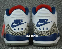 Nike Air Jordan 3 Retro OG 854262-106 White Fire Red True Blue NEW 2016 III DS
