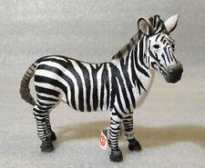 RARE Schleich Pvc Wild Animals ✱ ZEBRA MALE ✱ 2008 Discontinued / Retired NEW