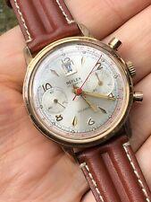 Montre Chronographe Vintage REFLEX Landeron 189 Date Incabloc 17 Jewels Watch