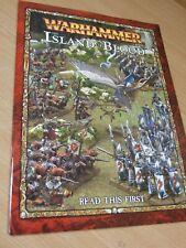 Libro de Warhammer de la isla de sangre leer esta primera (B-007)