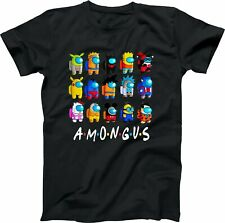 AMONG US - Imposter? - Video Game Friends Custom T-SHIRT