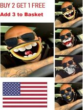 3D-Print Funny Face Mask Protective Covering Washable Reusable Adult-Unisex US