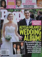 ALYSSA MILANO'S WEDDING ALBUM!  2009 PEOPLE Magazine KOURTNEY KARDASHIAN