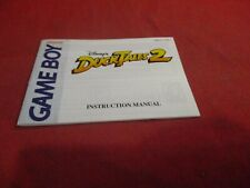 DuckTales 2 Nintendo Game Boy Instruction Manual Booklet Insert ONLY