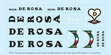 De Rosa Bicycle Decals-Transfers-Stickers #1