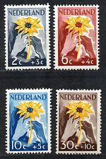 Netherlands - 1949 Aid for the Dutch Indies Mi. 521-24 MH