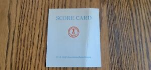 Vintage Golf Scorecard from Chicago Golf Club not used 1930's