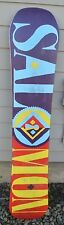 2014 SALOMON GYPSY 151CM WOMENS SNOWBOARD $450 151 true twin camber USED