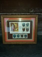 Northwest Coast Indians First Day Cover Indian Arts Stamps Framed