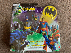 Mattel Batman and Superman Figures 2 pack- 2003 DC Comics