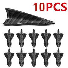 10PCS Shark Fin Diffuser Vortex Generator Car Wing Roof Spoiler Bumper Universal