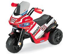 Ducati Desmosedici Rider Dovizioso 6 V Volt Raider Motorbike Peg Perego Guanti