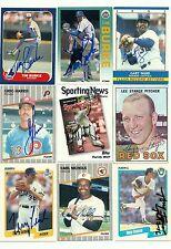 Carl Nichols signed 1989 Fleer #612 Orioles  Astros