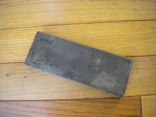 "Vintage Embossed Champion Oil Stone Knife Sharpening Rock 5"" x 2"""