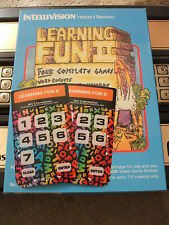 NEW LEARNING FUN II 2 ORPHAN OVERLAYS FOR INTELLIVISION GAME FLASHBACK